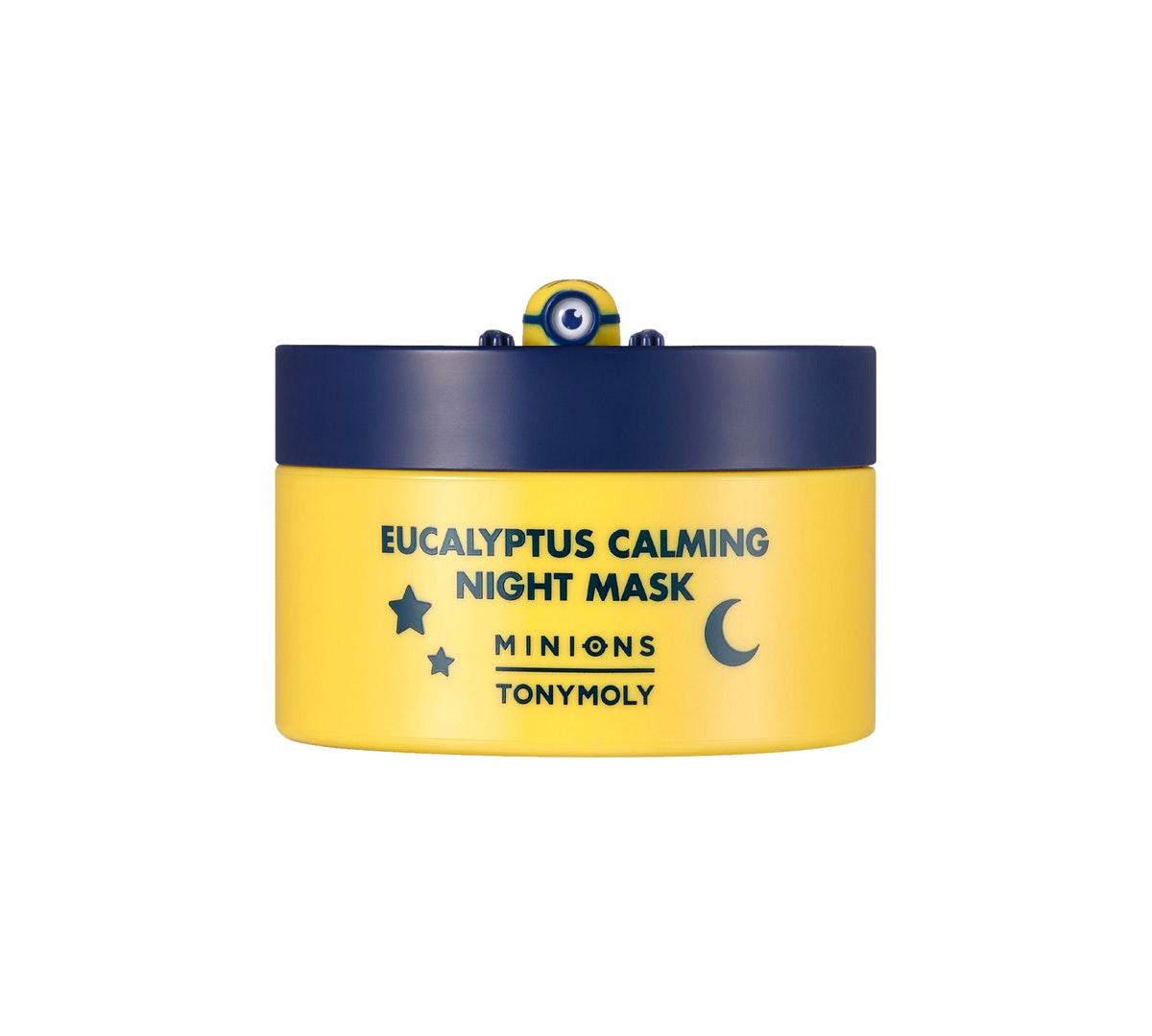 TONYMOLY x Minions Eucalyptus Calming Night Mask