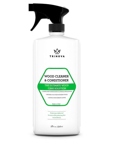 Trinova Wood Cleaner, Conditioner, Wax & Polish