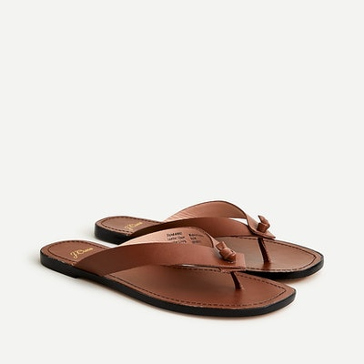J.Crew Knotted Thong Sandals