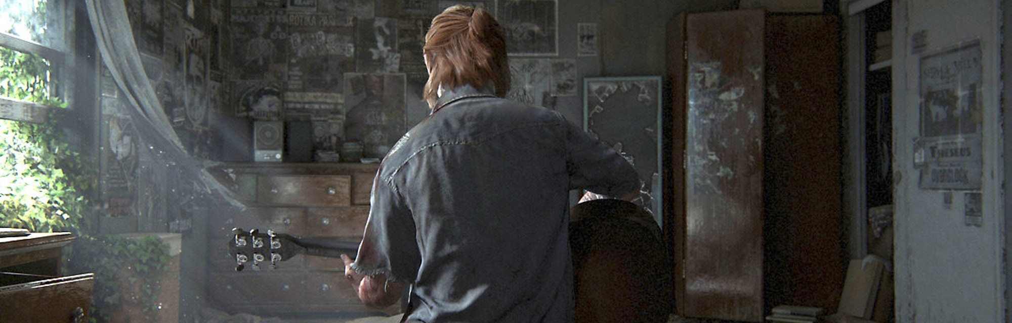 Ellie in a quiet moment of 'The Last of Us Part II,' out June 19.