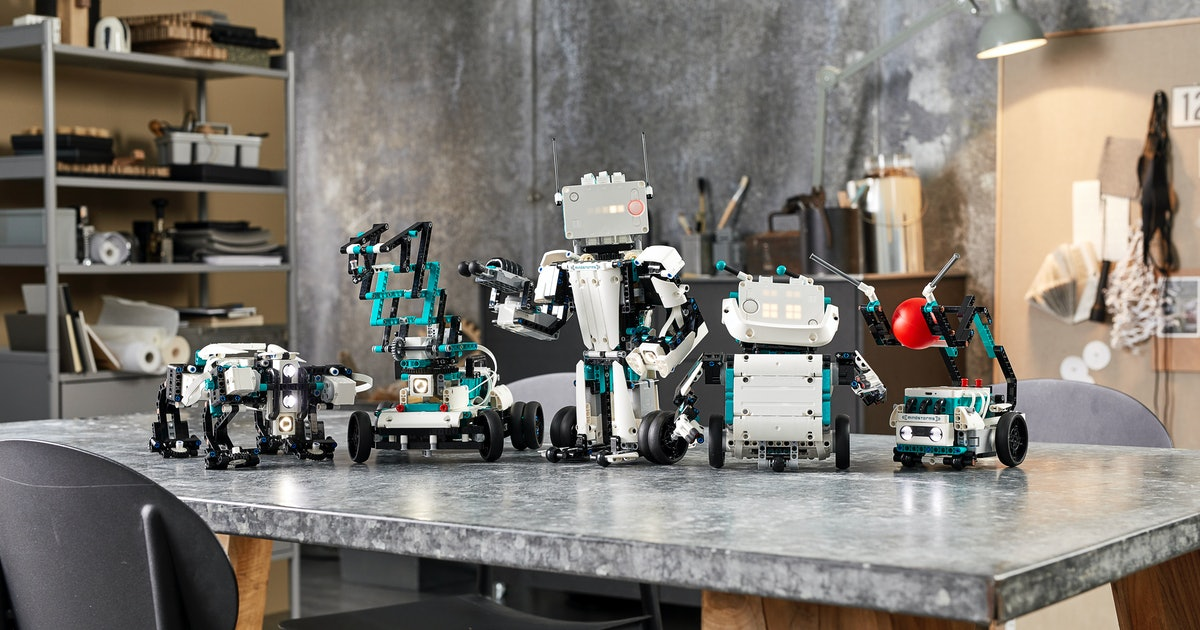 Lego's new Mindstorm kit teaches kids how to program robots