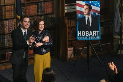 Payton and Infinity in The Politician Season 2 via the Netflix press site