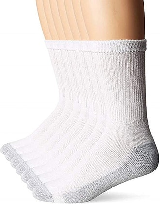 Hanes Men's FreshIQ X-Temp Comfort Cool Crew Socks (6-Pack)