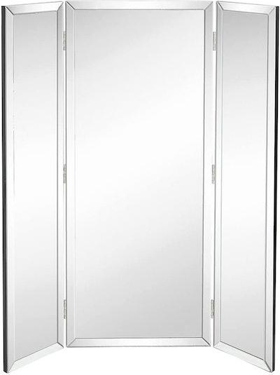 Hamilton Hills Trifold Full Length Mirror