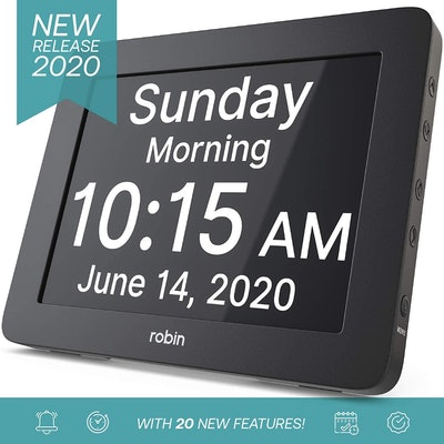 Robin Digital Day Clock