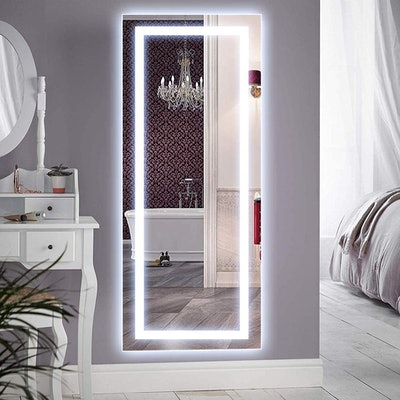 QiMH Vertical Mirror WIth LED Lights
