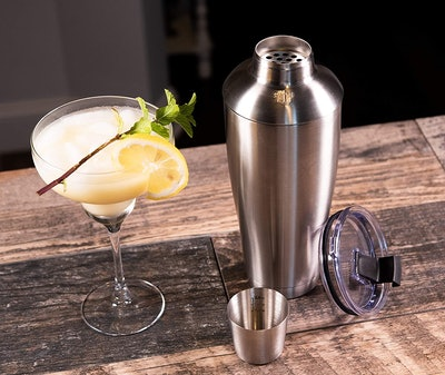 Stock Harbor Double Wall Cocktail Shaker Tumbler