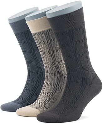 Bambooven Bamboo Dress Socks (3-Pack)