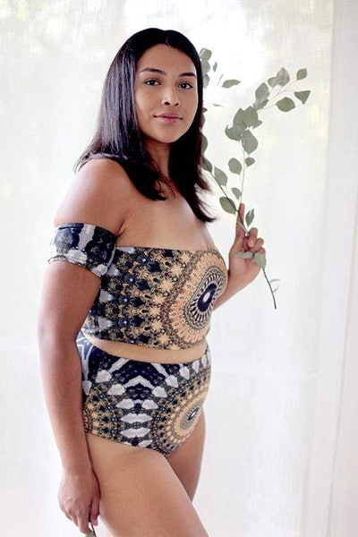 Noor Reversible High-Waisted Bikini Bottom