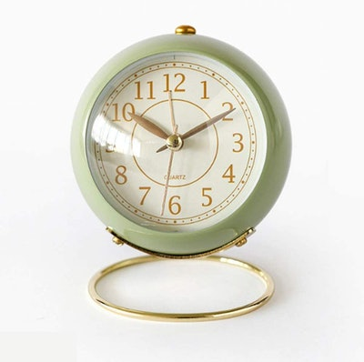 JUSTUP Small Table Clock