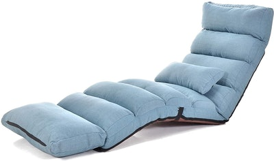 LUCKYERMORE Large Floor Lounger Chair