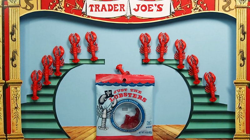 Trader Joe's new Just The Lobsters gummies will be your new favorite candy.