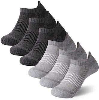 FOOTPLUS Copper Performance Socks (6-Pack)