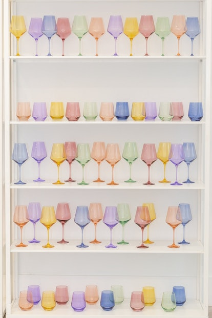 Estelle Colored Wine Stemless Glasses — Set Of 6
