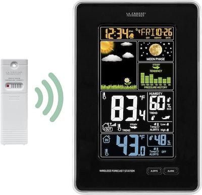 La Crosse Technology 308-1425B-INT Vertical Wireless Color Weather Station