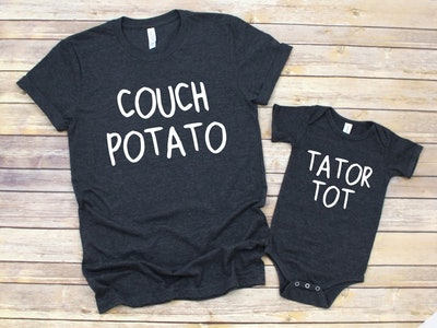 Couch Potato + Tator Tot