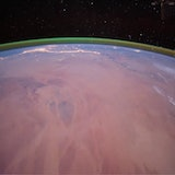 Glowing green oxygen detected in the Martian atmosphere