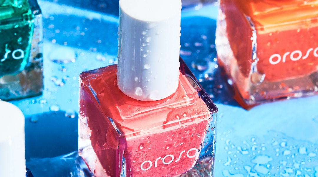 Orosa's new Cool Heat nail polish collection features six bright colors that are supposed to last a week.