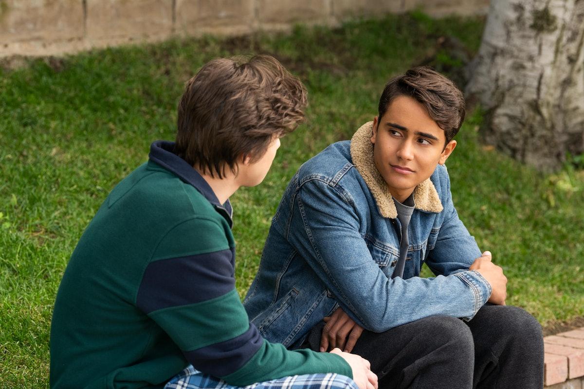Victor in Hulu's 'Love, Victor'