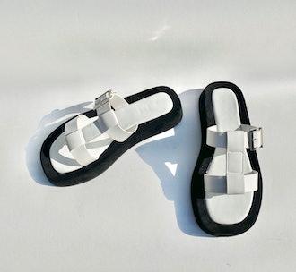 BYM White Slides