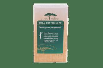 Lemongrass Peppermint Shea Butter Soap