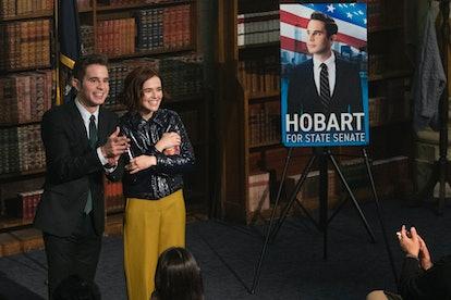 Ben Platt as Payton Hobart & Zoey Deutch as Infinity Jackson in 'The Politician' via Netflix's press site