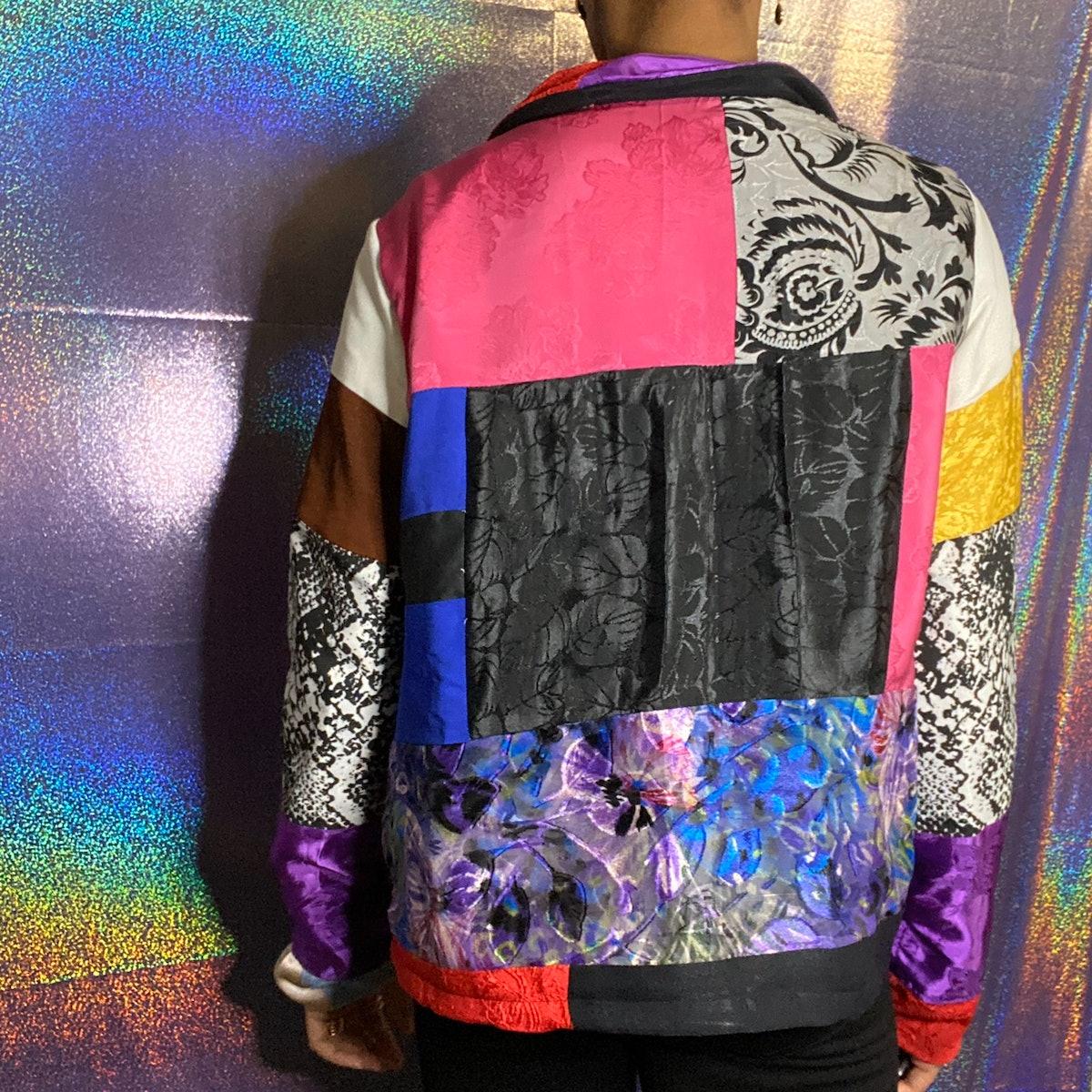 @jreneediy Colorful Patchwork Jacket