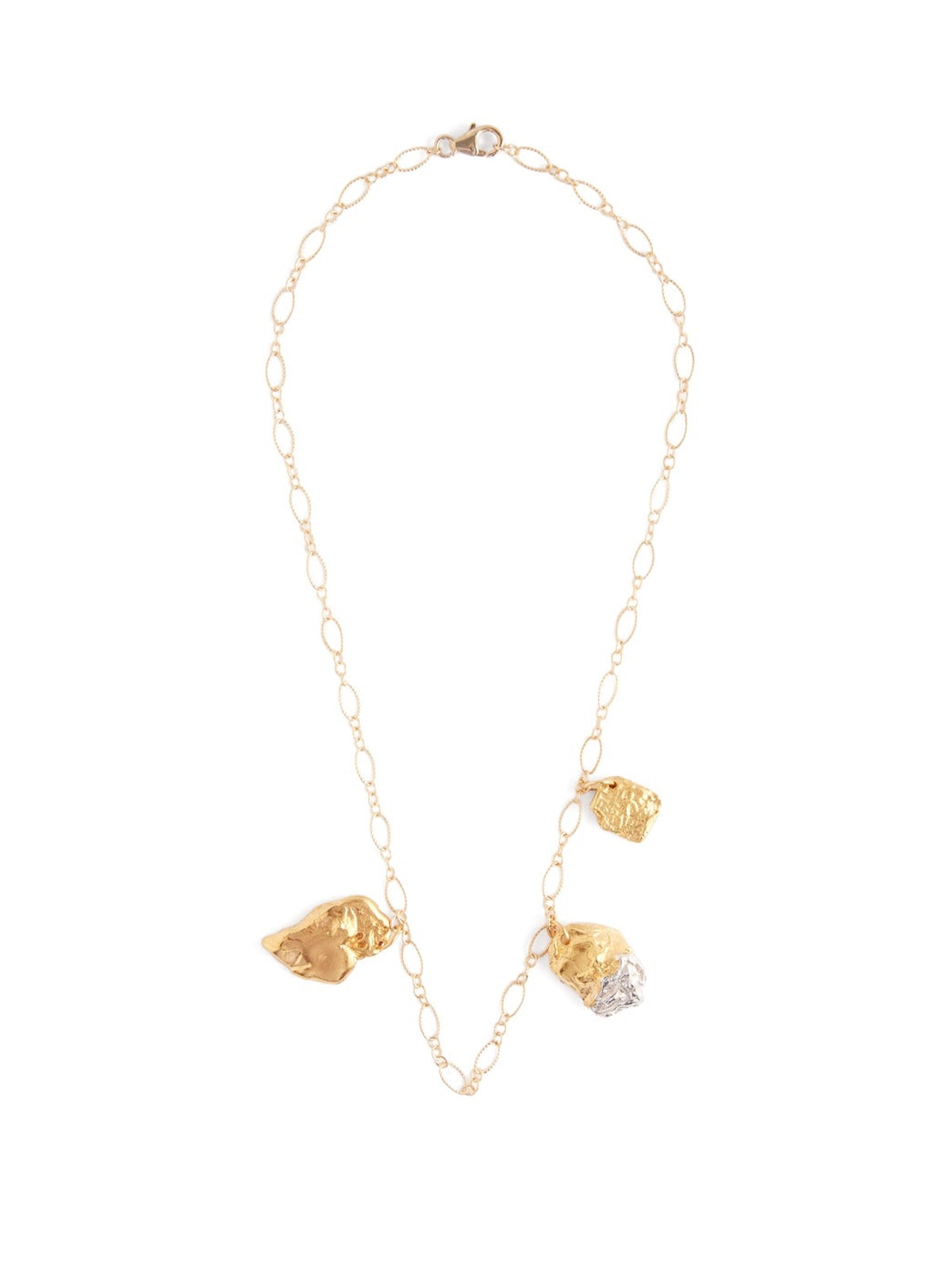 The X-Chrome Amore 24kt Gold-Plated Necklace