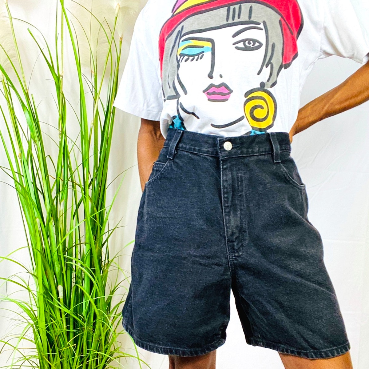 @shauniescloset Gitano Black Shorts