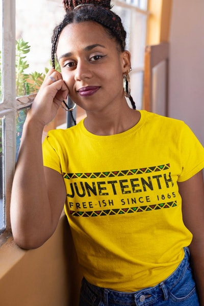 Juneteenth Free-ish Unisex T-Shirt