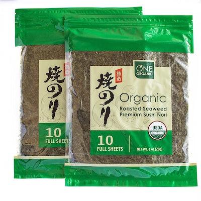 One Organic Roasted Seaweed