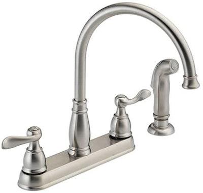 Delta Faucet Windemere 2-Handle Kitchen Sink Faucet