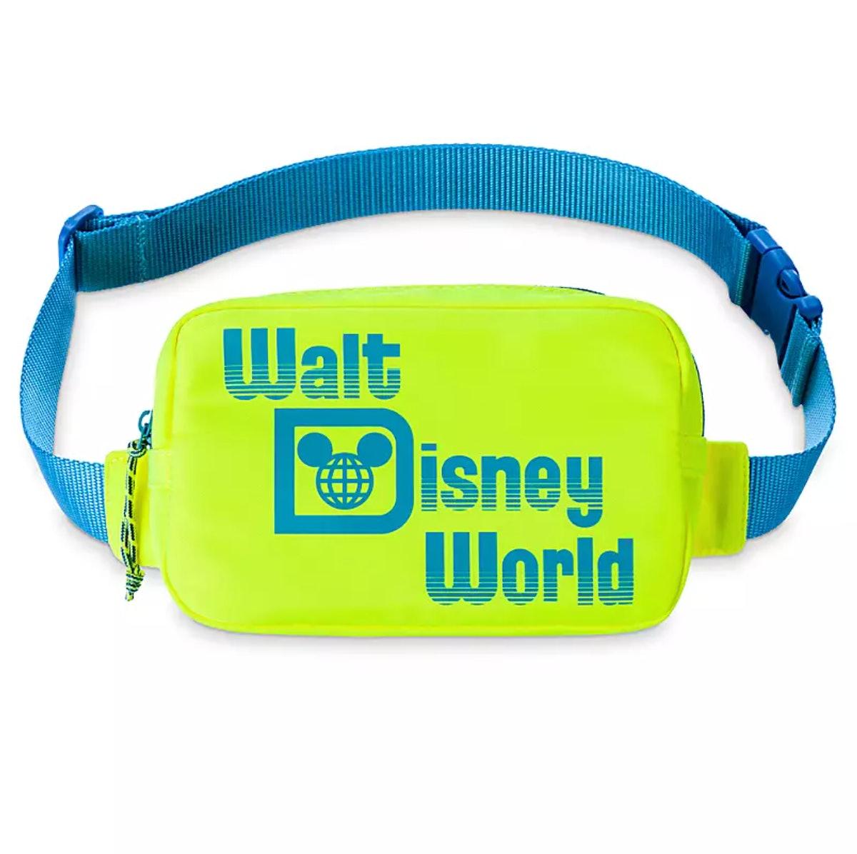 Walt Disney World Resort Neon Belt Bag