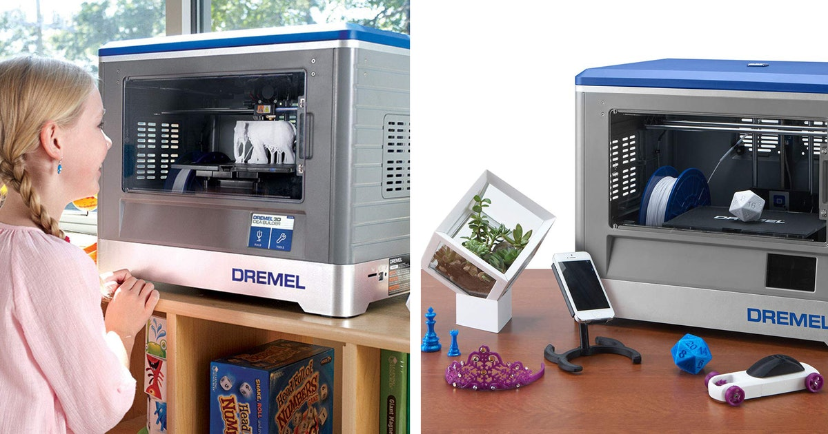 These 3-D Printers Are Kid-Friendly — So They Can Design & Print Their Own Toys
