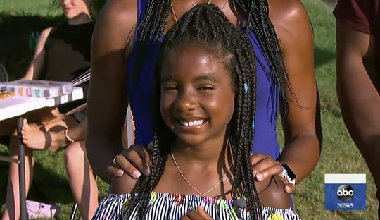 A young girl is making a big difference with her friendship bracelets.