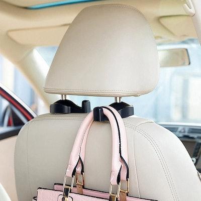IPELY Universal Car Vehicle Back Seat Headrest Hanger (2-Pack)