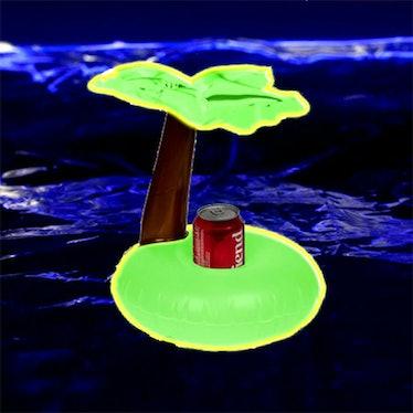 Glow in the Dark Palm Tree Drink Float