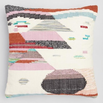 Multicolored Desert Landscape Pillow