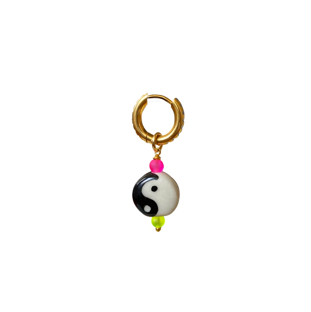 Yin Yang Earring