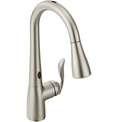 Moen 7594ESRS Arbor Motionsense Two-Sensor Touchless Kitchen Faucet