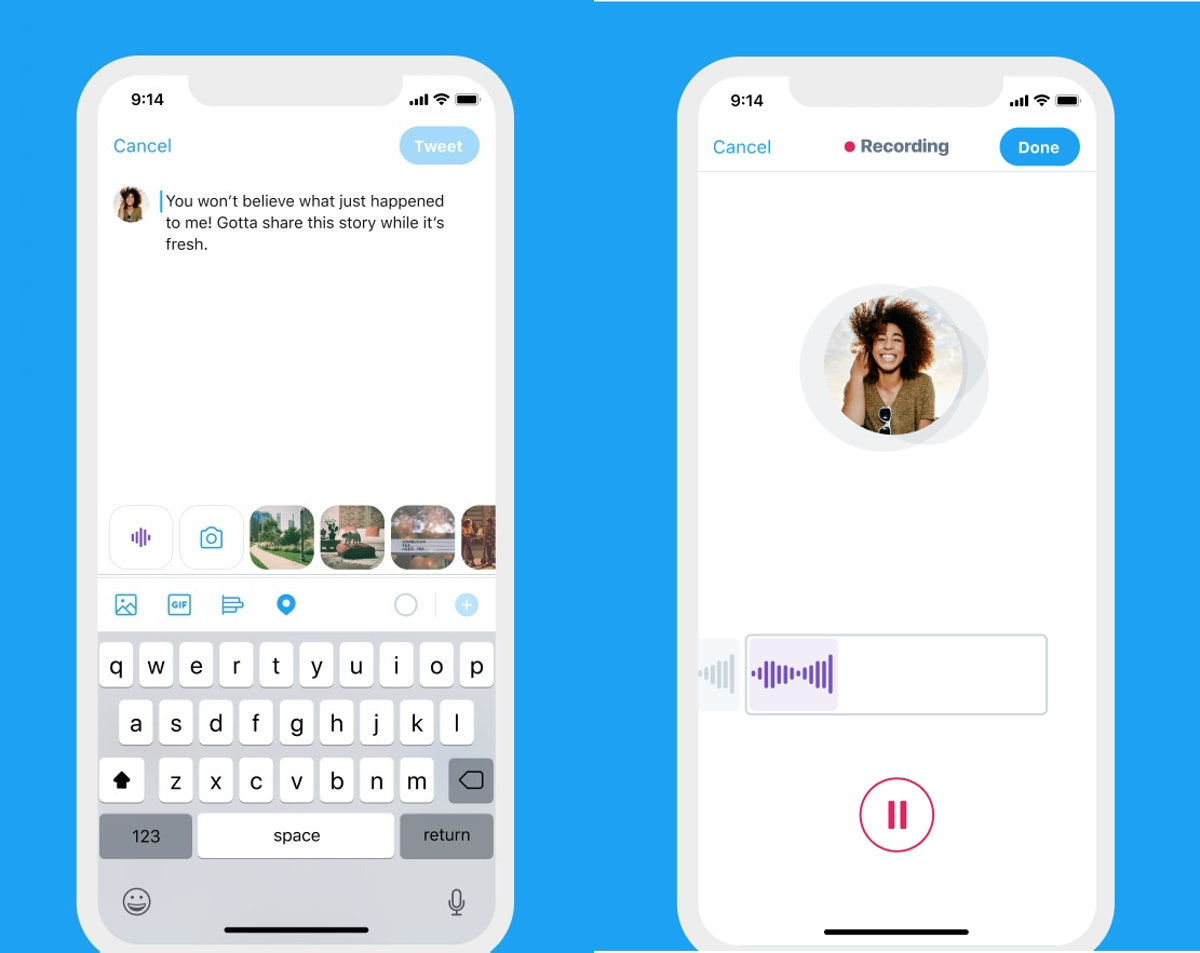 Here's why you might not see Twitter's voice tweets as an option on your app.
