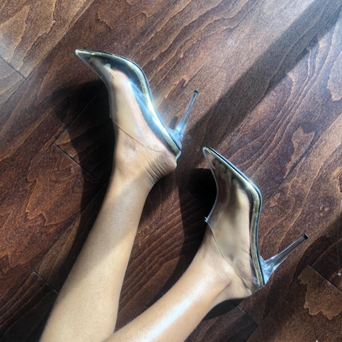 @miagho_ Cape Robbin Clear Heel