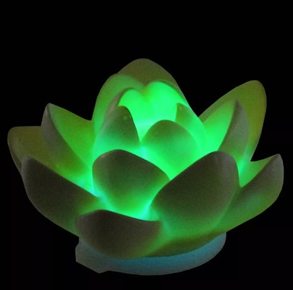 Pool Central Floating Flower LED Color Changing Patio or Swimming Pool Light