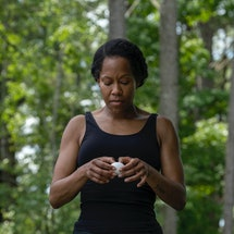 Watch Regina King in 'Watchmen,' available on HBO, this Juneteenth. Photo via Mark Hill/HBO