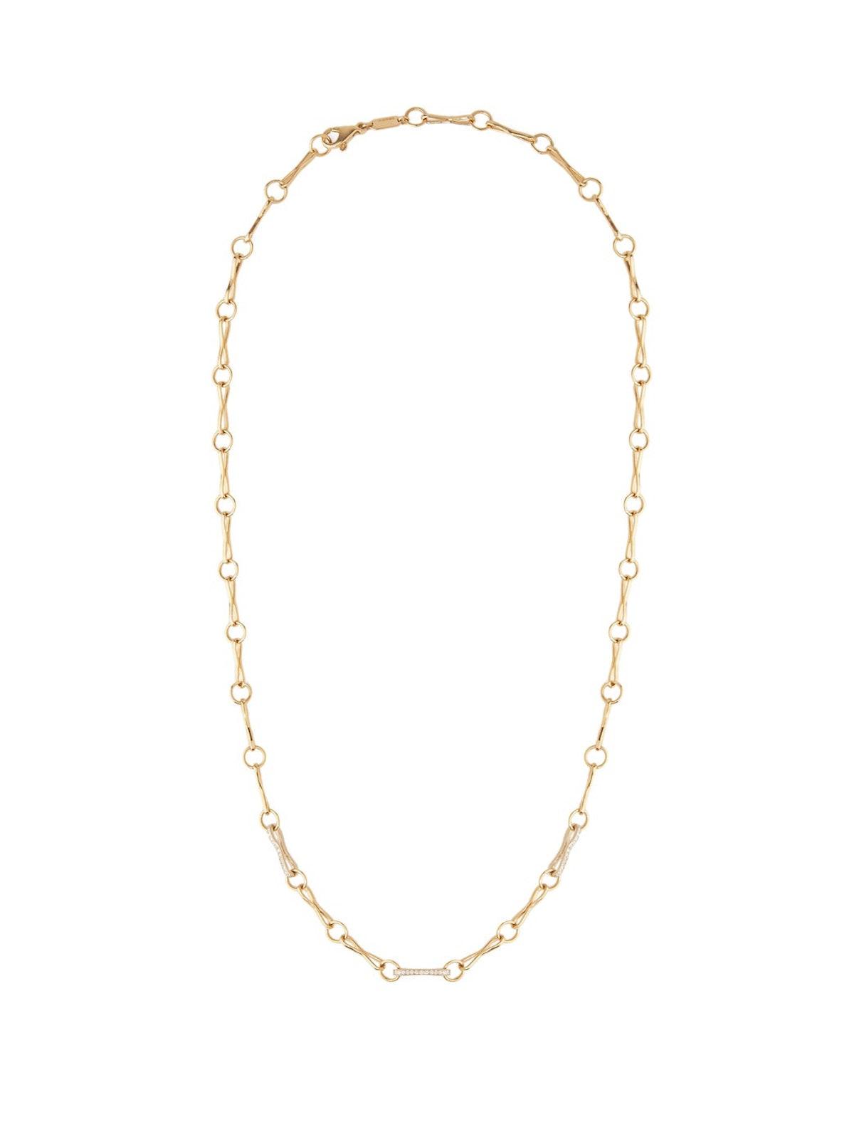 Diamond & 18kt Gold Necklace