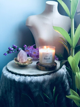 Blush Candle