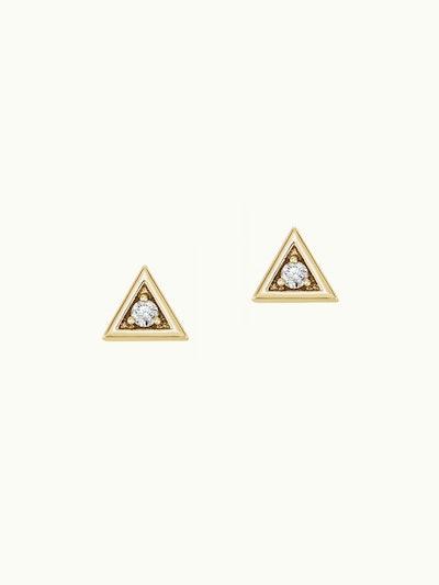 Essential Trinity Diamond Stud Earrings
