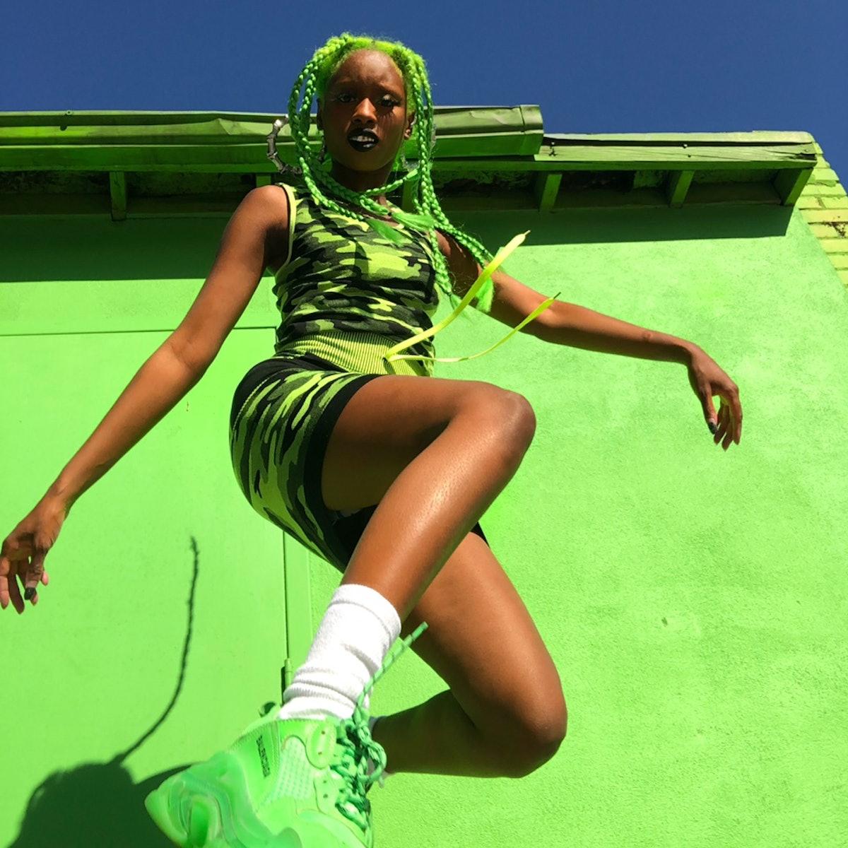 @getsomegreens Camo Dress