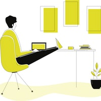 """4 design rules for your home office to achieve a """"state of flow"""""""
