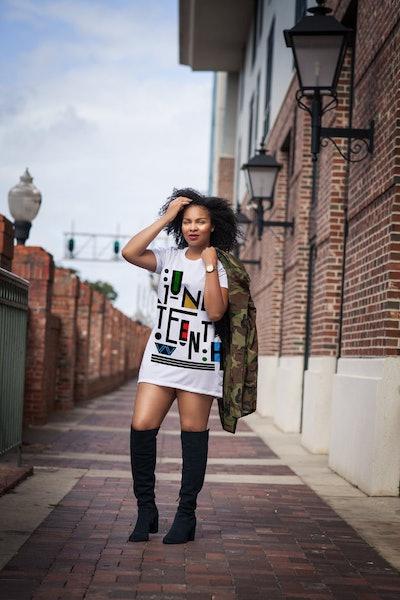 Juneteenth T-Shirt Dress